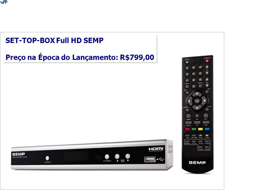 SET-TOP-BOX Full HD SEMP Preço na Época do Lançamento: R$799,00