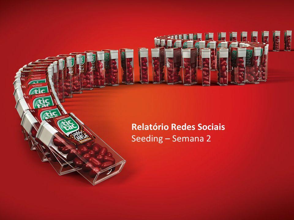 Relatório Redes Sociais Seeding – Semana 2