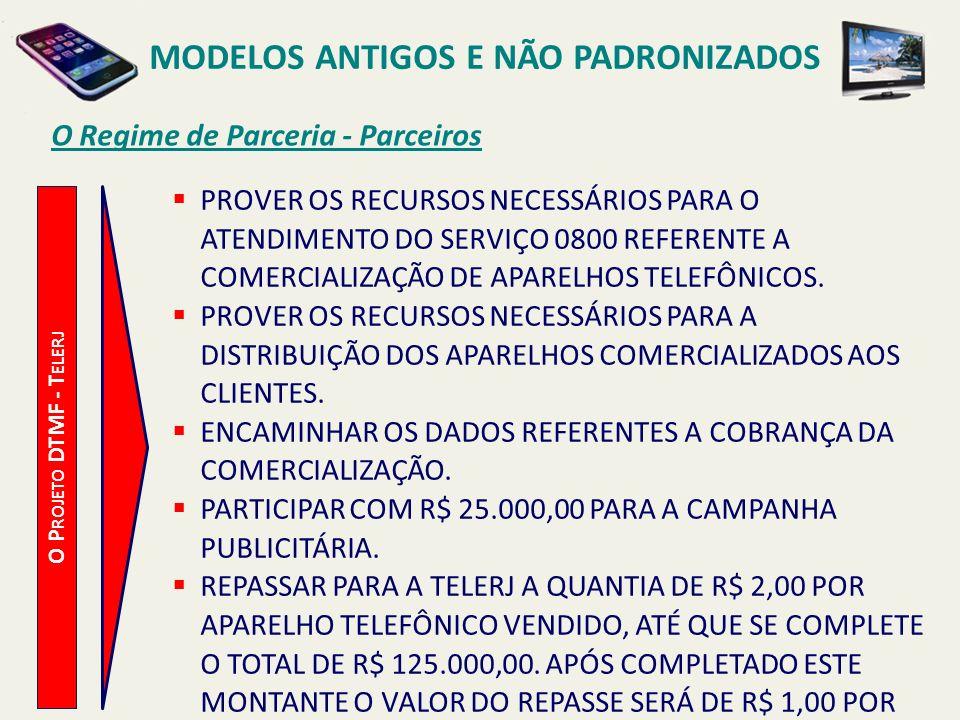 MODELOS ANTIGOS E NÃO PADRONIZADOS A Campanha Publicitária O P ROJETO DTMF - T ELERJ UMA INSERÇÃO EM 2 (DOIS) JORNAIS DE GRANDE CIRCULAÇÃO DE UM QUARTO DE PÁGINA COLORIDA, NO VALOR ESTIMADO DE R$ 43.600,00.