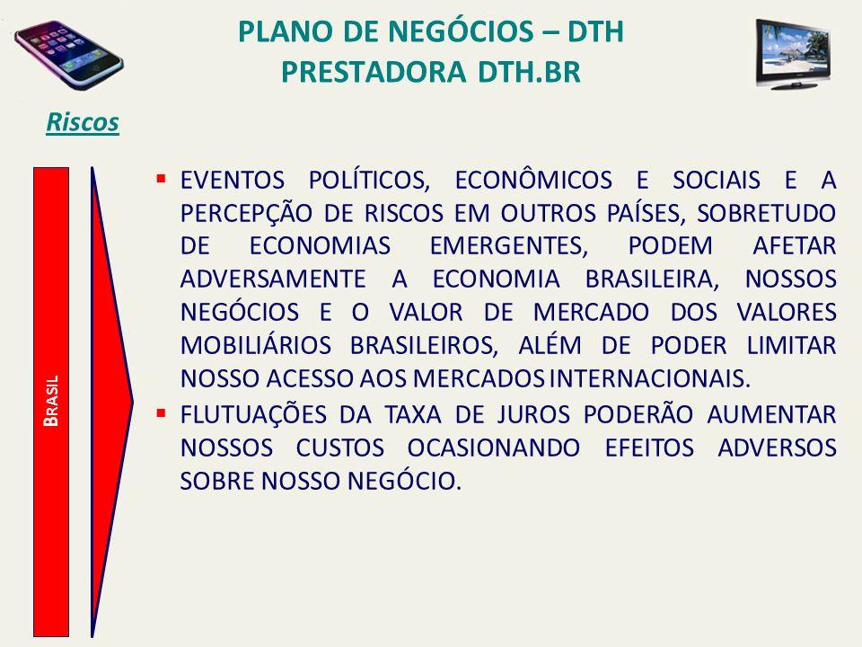 PLANO DE NEGÓCIOS – DTH PRESTADORA DTH.BR Plano de Implantação