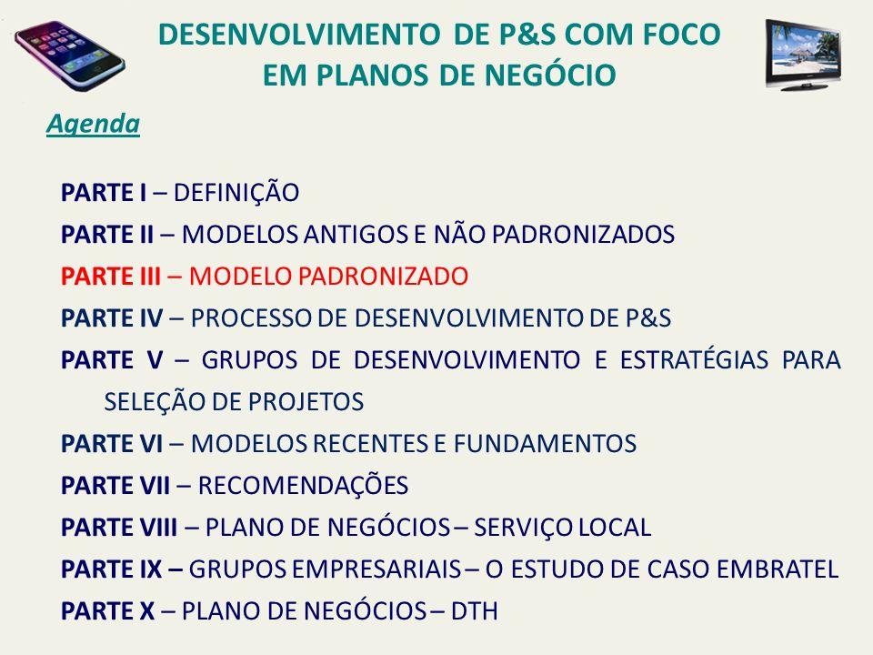 MODELO PADRONIZADO Modelo Telebrás ORGANIZAÇÃO CARACTERIZAÇÃO DO SERVIÇO.