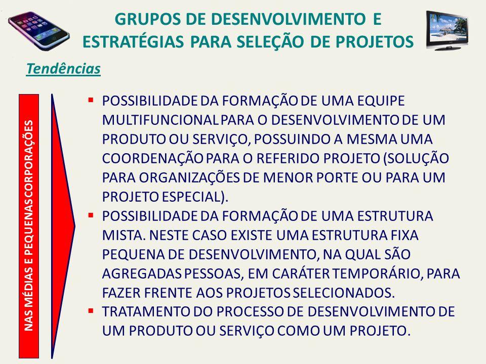 Seleção de Projetos P ONTOS P RINCIPAIS CONVERGÊNCIA.
