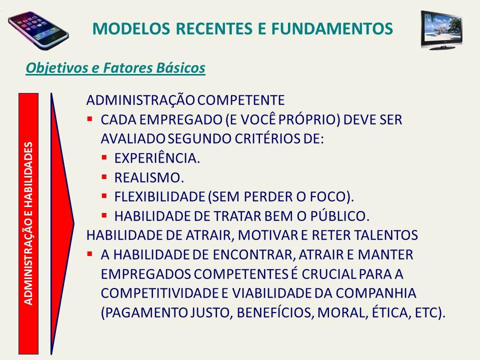 Objetivos e Fatores Básicos V ALORES VALORES E INTEGRIDADE DE EMPRESA CADA EMPRESA TEM DE FAZER DINHEIRO (GERAR NEGÓCIOS).