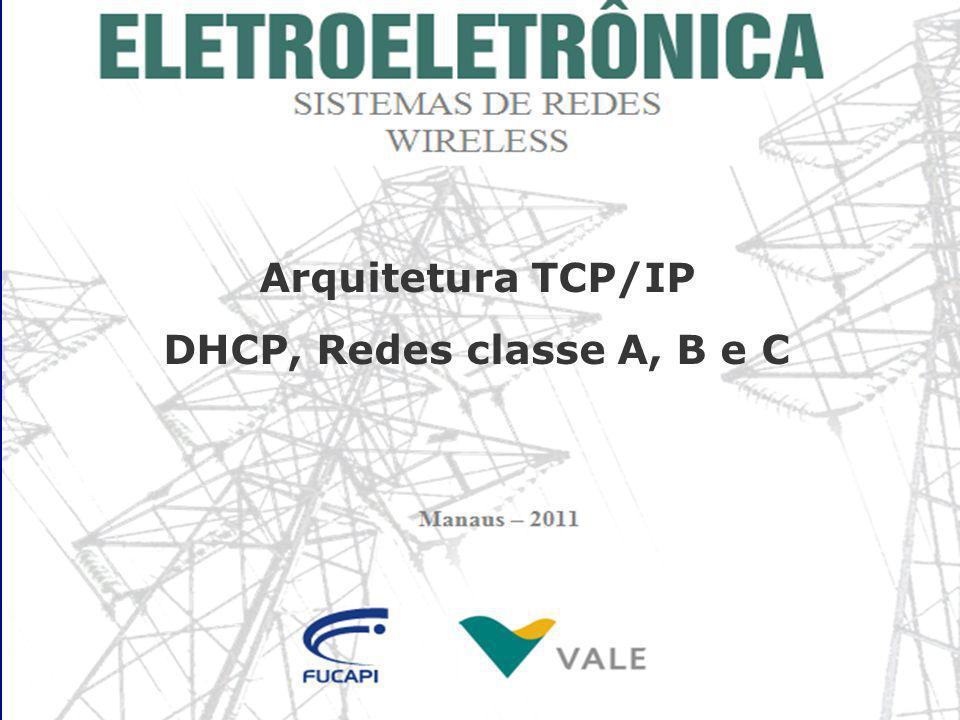 Funcionamento do DHCP Um servidor DHCP simplesmente mantém uma tabela contendo os nomes dos diversos computadores da rede e atribui a eles IPs dentro de uma faixa de endereços.