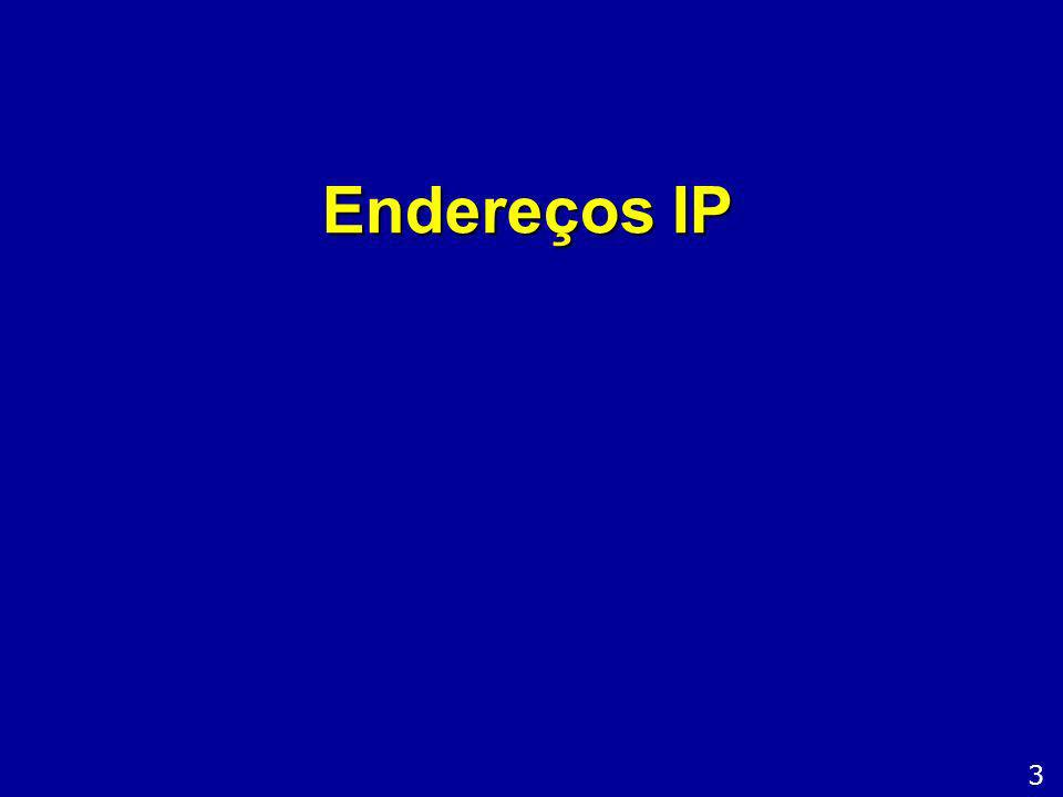 Endereços para redes internas A tabela abaixo resume os endereços usados pelas redes classes A, B e C, bem como as respectivas faixas reservadas para redes internas (locais): 24 Índice Redes Classe: Faixas de IPs Redes internas A 1.0.0.0 a 126.255.255.255 1 rede: 10.0.0.0 a 10.255.255.255 B 128.1.0.0 a 191.254.255.255 17 redes: 172.16.0.0 a 172.31.255.255 e 169.254.0.0 a 169.264.255.255 C 192.0.1.0 a 223.255.254.255 256 redes: 192.168.0.0 a 192.168.255.255