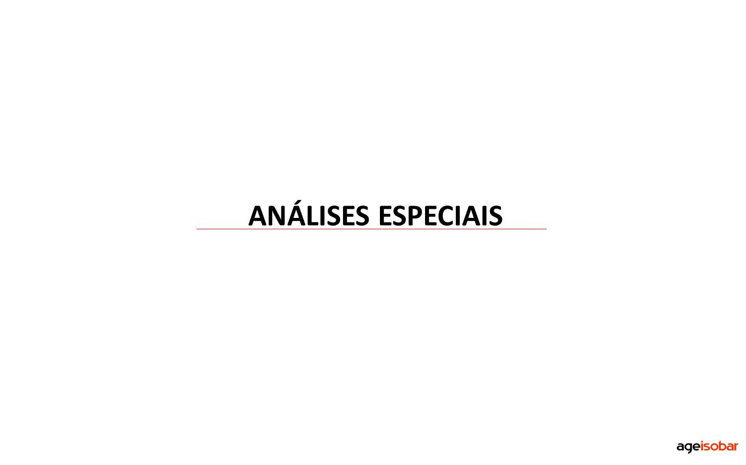 ANÁLISES ESPECIAIS
