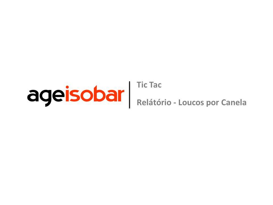 Tic Tac Relátório - Loucos por Canela