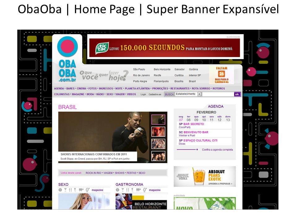 ObaOba | Home Page | Super Banner Expansível