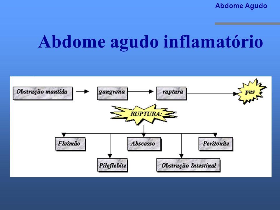 Abdome agudo inflamatório Abdome Agudo