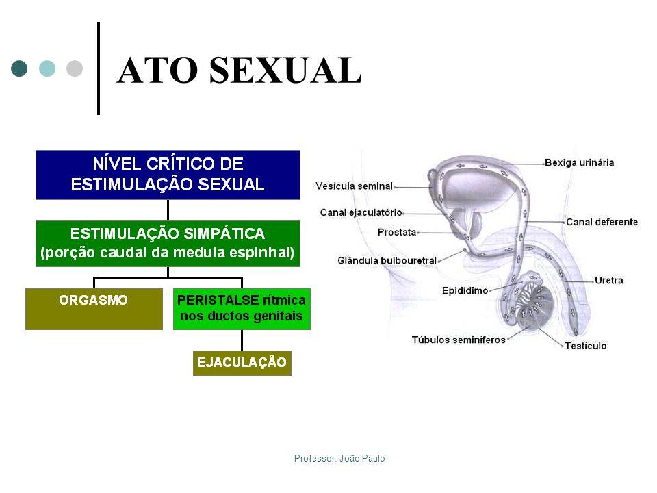 Professor: João Paulo ATO SEXUAL Orgasmo e Ejaculação