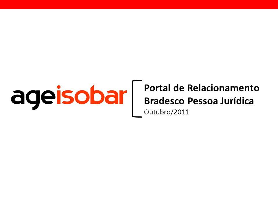 Portal de Relacionamento Bradesco Pessoa Jurídica Outubro/2011