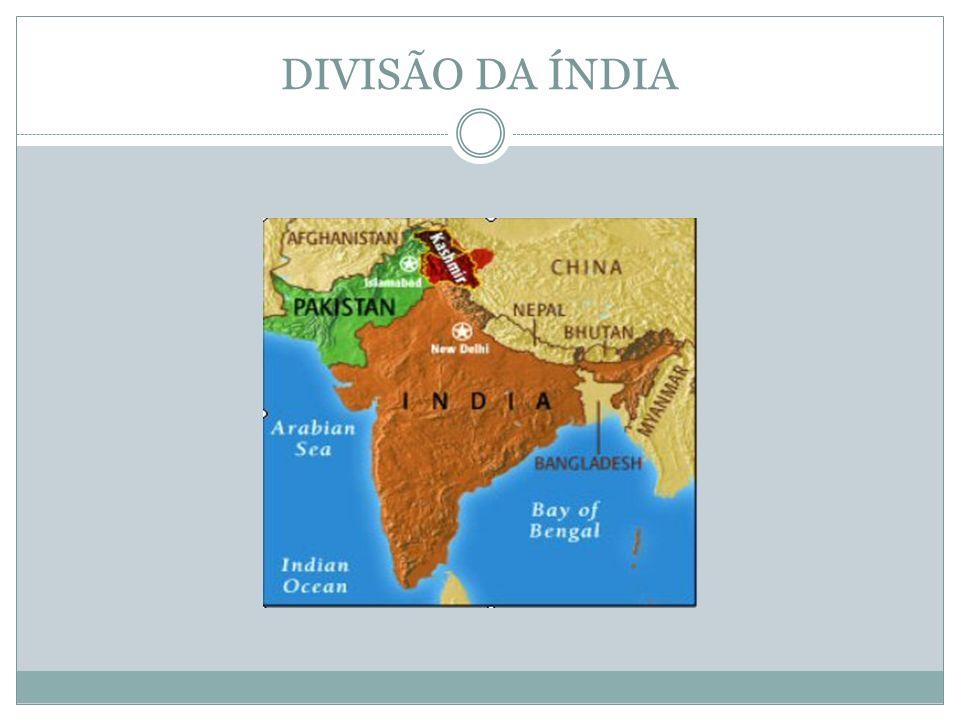 DIVISÃO DA ÍNDIA