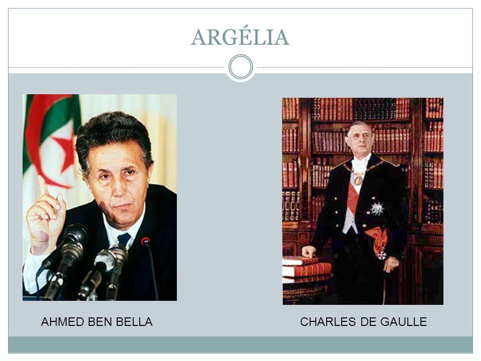 AHMED BEN BELLA CHARLES DE GAULLE
