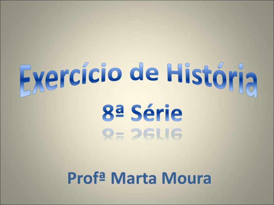 Profª Marta Moura