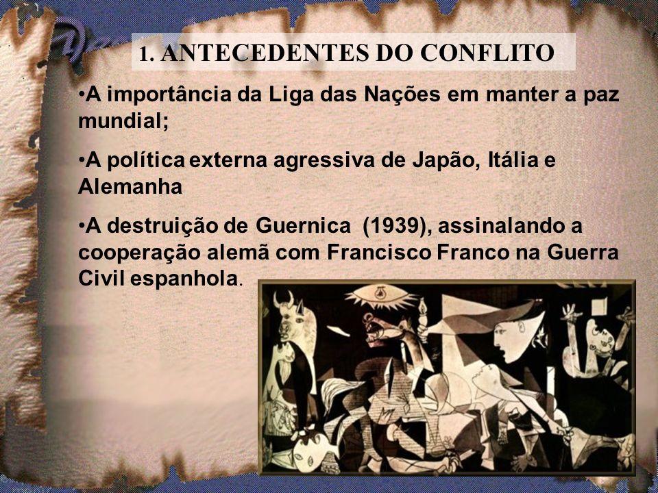 Durou pouco tempo a ilusão de paz após a Primeira Guerra. Dominada por Hitler, a Alemanha se armou e voltou à carga, no momento em que o ocidente capi