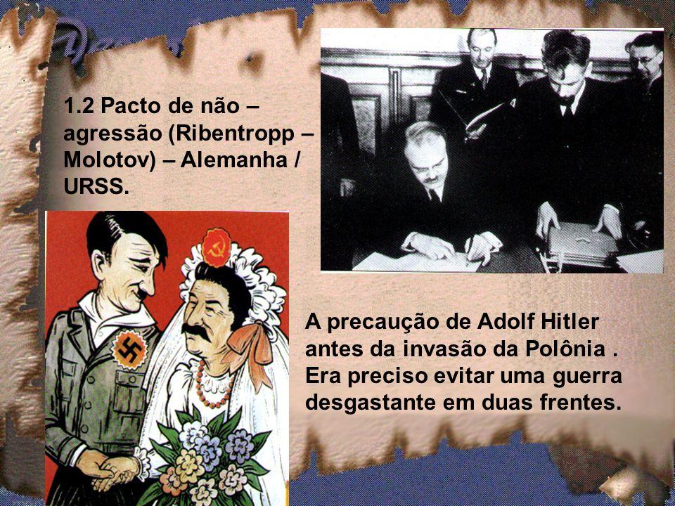 1.1 O expansionismo alemão (teoria do espaço vital) Renânia (região do rio reno, 1936) Anschluss (união) – Áustria (março, 1938); Conferência de Muniq