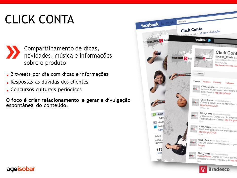 CONTA UNIVERSITÁRIA Compartilhamento de dicas sobre carreira, novidades e informações sobre o produto.