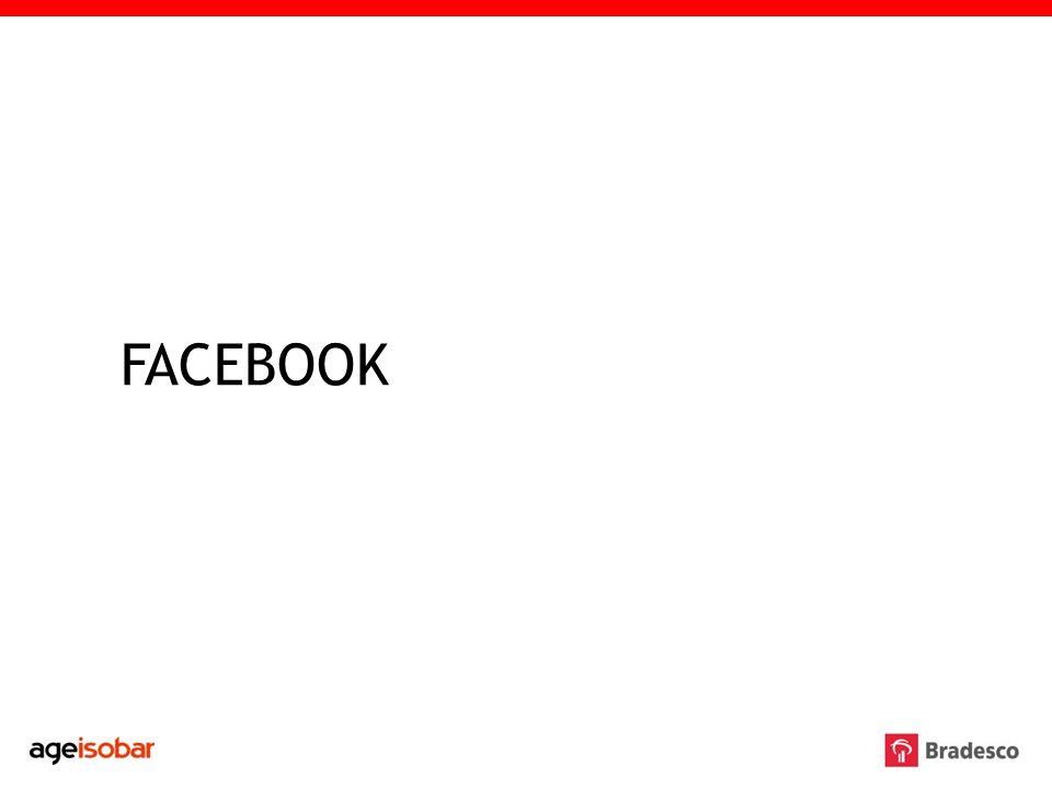 Para gerar maior interação e engajar o público também no Facebook, foi apresentada no início do ano uma proposta ao Bradesco para implementação das fanpages de Click Conta e Conta Universitária Bradesco a partir das ferramentas de interatividade que esta rede social possibilita.
