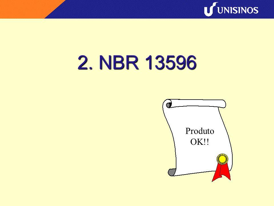 2. NBR 13596 Produto OK!!