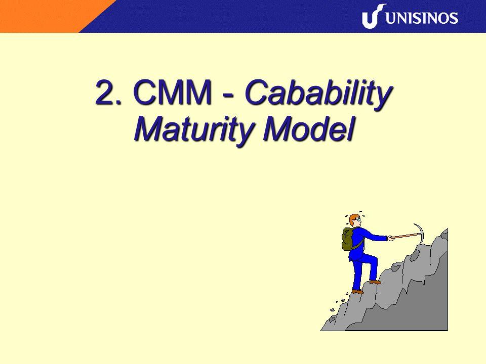 2. CMM - Cabability Maturity Model