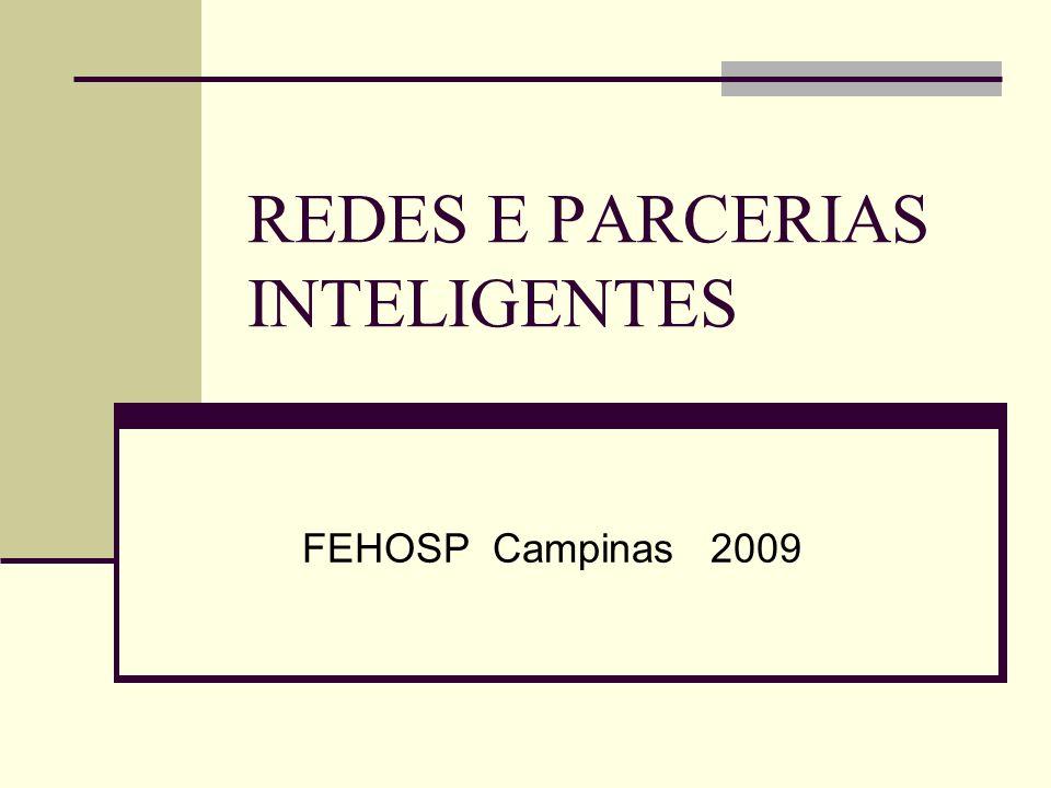 REDES E PARCERIAS INTELIGENTES FEHOSP Campinas 2009