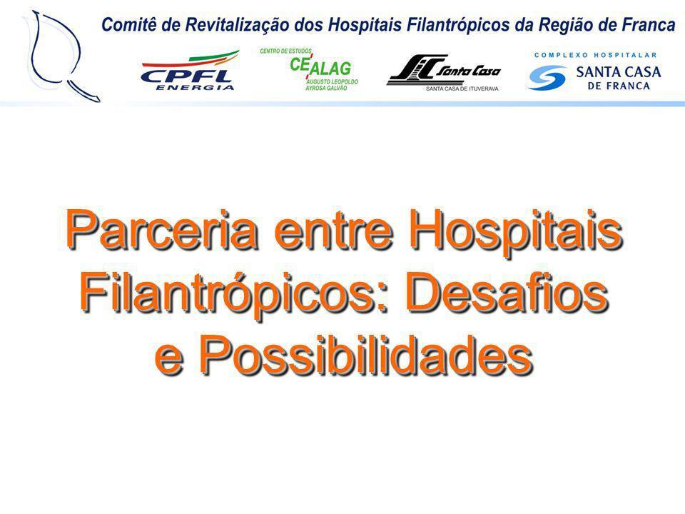 Objetivo: Desenvolver e implantar o Programa de Revitalização dos Hospitais Filantrópicos (PRHF), para aprimorar o desempenho administrativo e a qualidade dos serviços prestados, dentro dos princípios e diretrizes do SUS, em harmonia com as normas e padrões do Programa de Responsabilidade Social da CPFL.