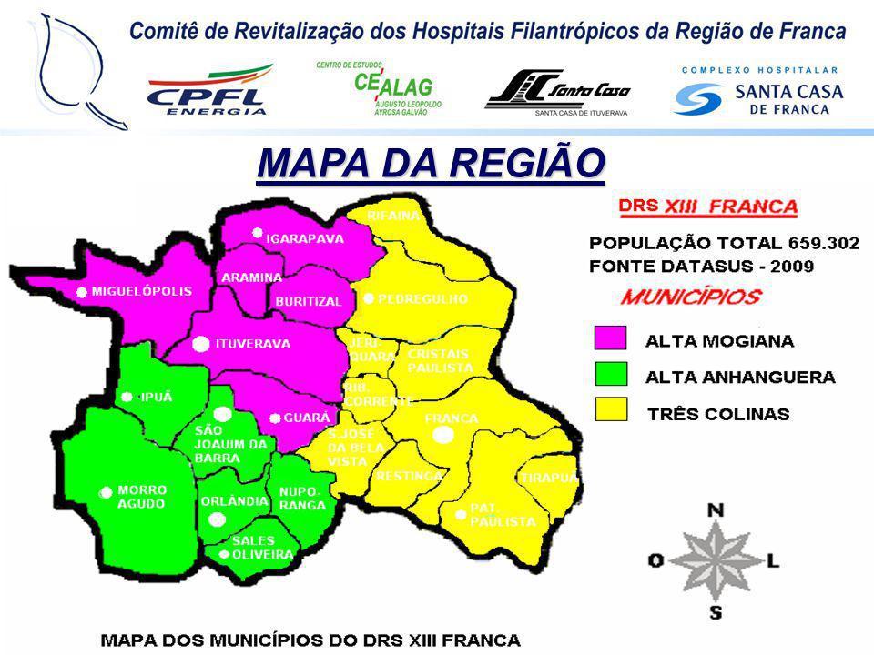 FASE II Junho de 2008 Objetivo: 1.Construção de pólos e redes de apoio aos Hospitais Filantrópicos, 2.Desenvolver mecanismos de compartilhamento, entre seus membros das bases conceituais e das técnicas adquiridas através do Programa.