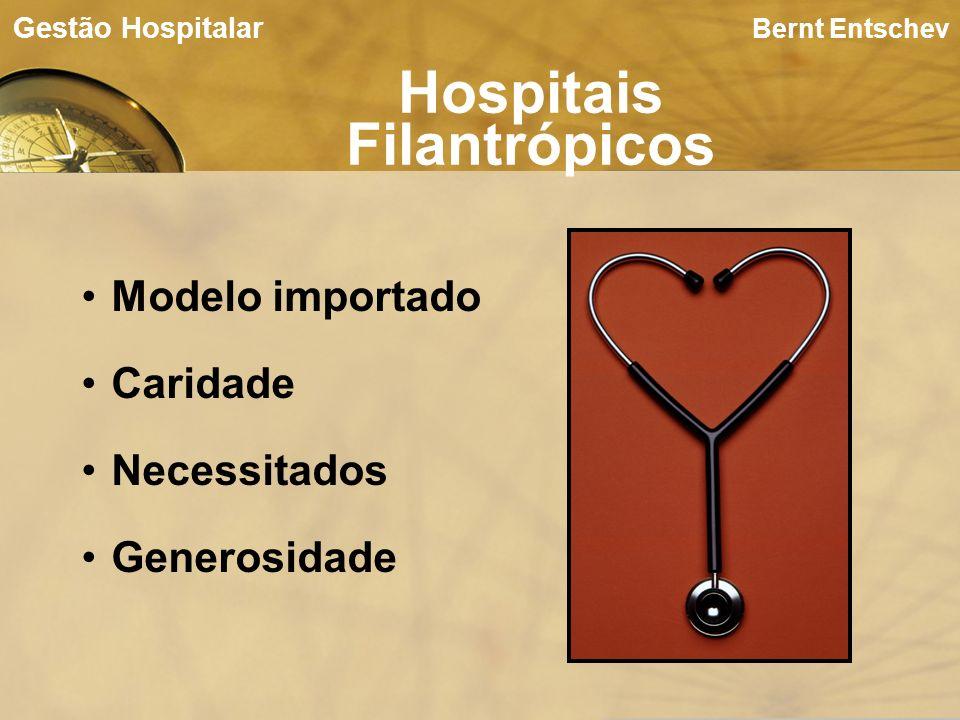 Bernt Entschev Hospitais Filantrópicos Gestão Hospitalar Modelo importado Caridade Necessitados Generosidade