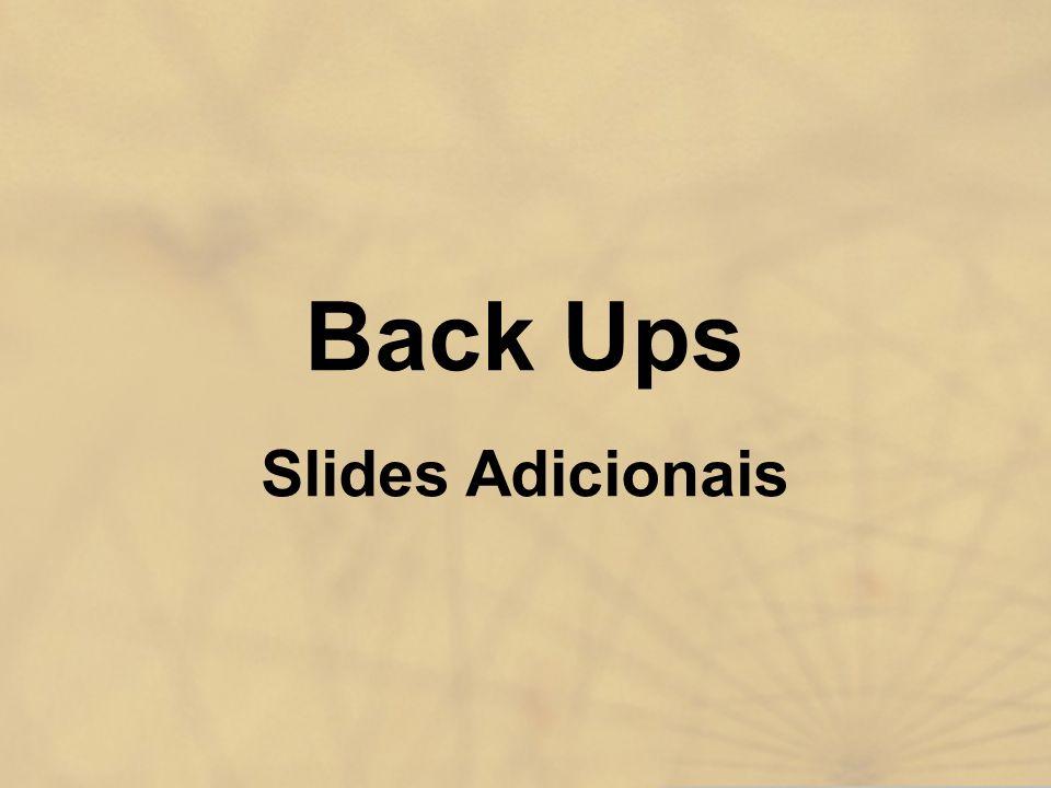 Back Ups Slides Adicionais