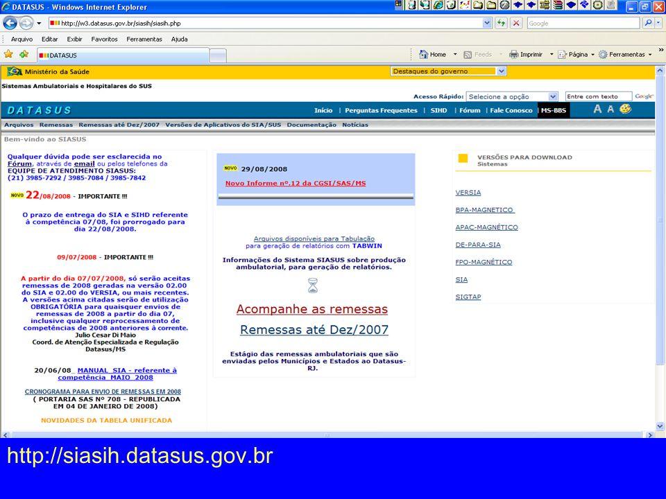 http://siasih.datasus.gov.br