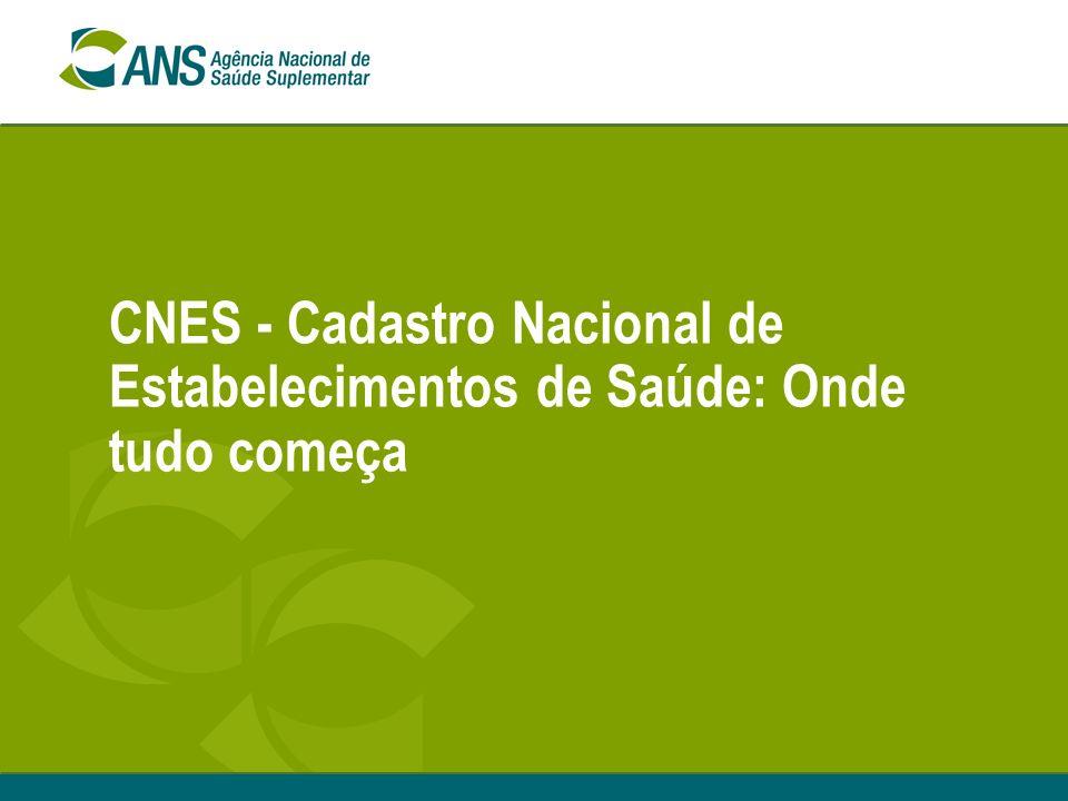 CNES - Cadastro Nacional de Estabelecimentos de Saúde: Onde tudo começa