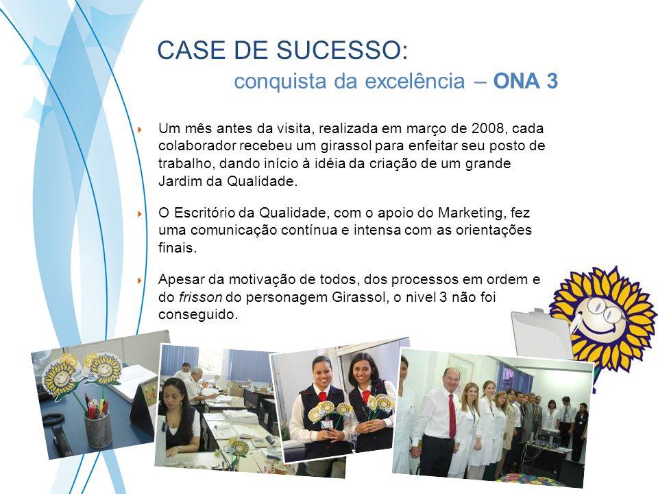 Um mês antes da visita, realizada em março de 2008, cada colaborador recebeu um girassol para enfeitar seu posto de trabalho, dando início à idéia da
