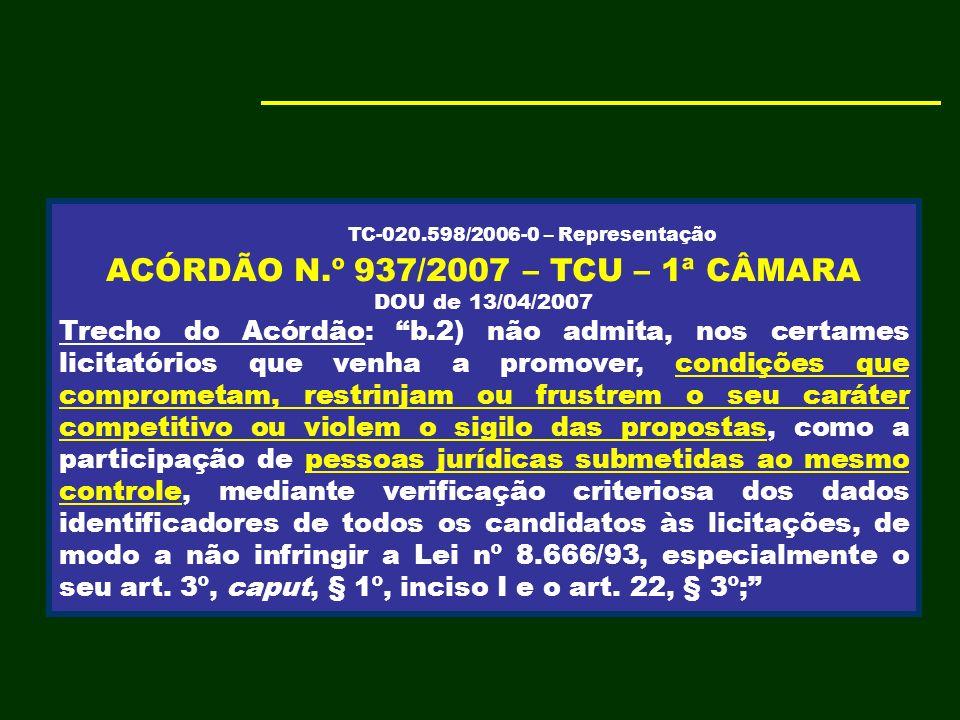 Obras e serviços de engenharia podem ser licitados por pregão? TCU - ASPECTOS PONTUAIS 9 SÚMULA