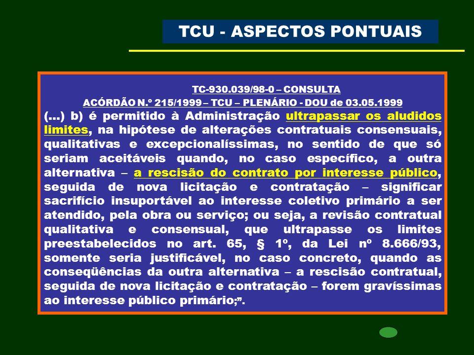 TRIBUNAL DE CONTAS ASPECTOS PONTUAIS DAS LICITAÇÕES E CONTRATOS Setembro de 2010