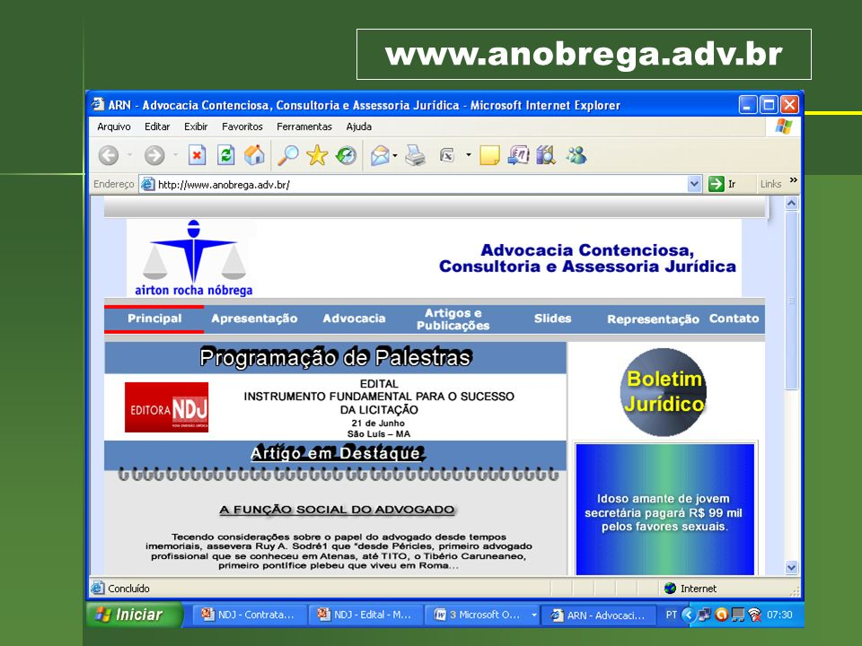 66 REGISTRO DE OUTROS FORNECEDORES Sistema de Registro de Preços Art.