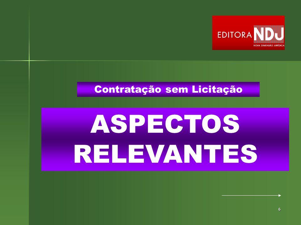 67 CARÁTER PREFERENCIAL DO REGISTRO DE PREÇOS Sistema de Registro de Preços ART.