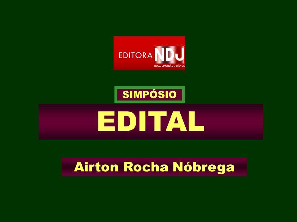 EDITAL Airton Rocha Nóbrega SIMPÓSIO