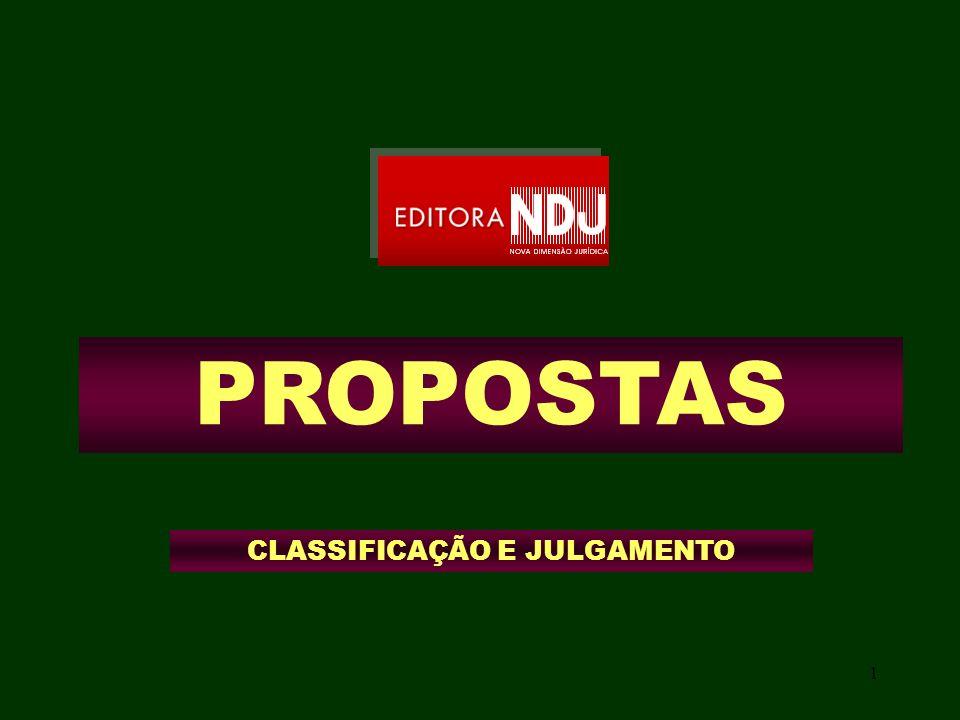 1 PROPOSTAS CLASSIFICAÇÃO E JULGAMENTO