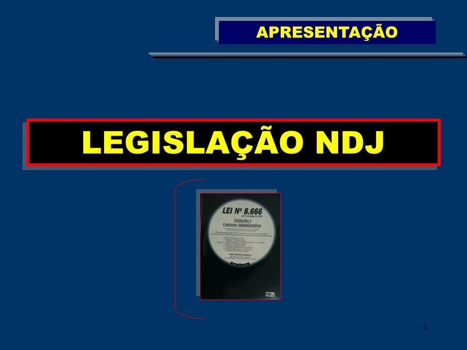 105 Boletim de Licitações e Contratos www.ndj.com.br Artigos Consultas e Respostas Acórdãos PERIÓDICOS