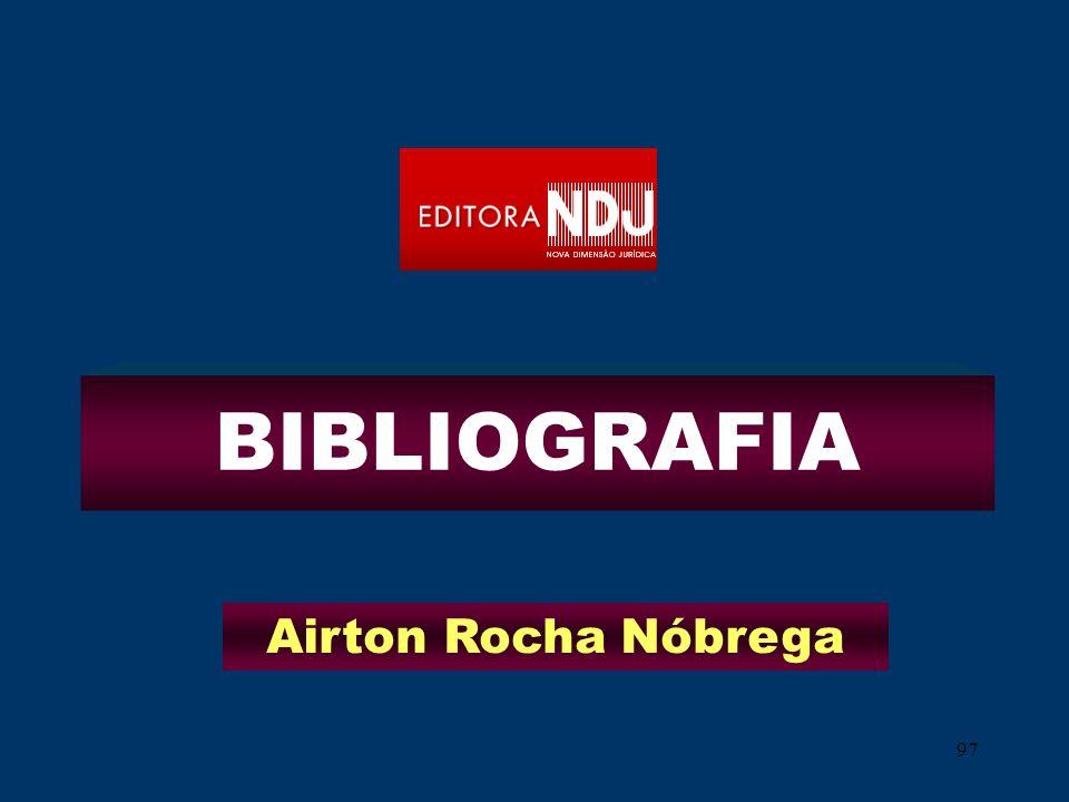 97 BIBLIOGRAFIA Airton Rocha Nóbrega