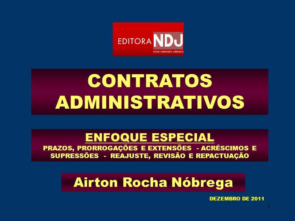 32 FIXAÇÃO DE PRAZOS E DURAÇÃO CONTRATOS ADMINISTRATIVOS Art. 57