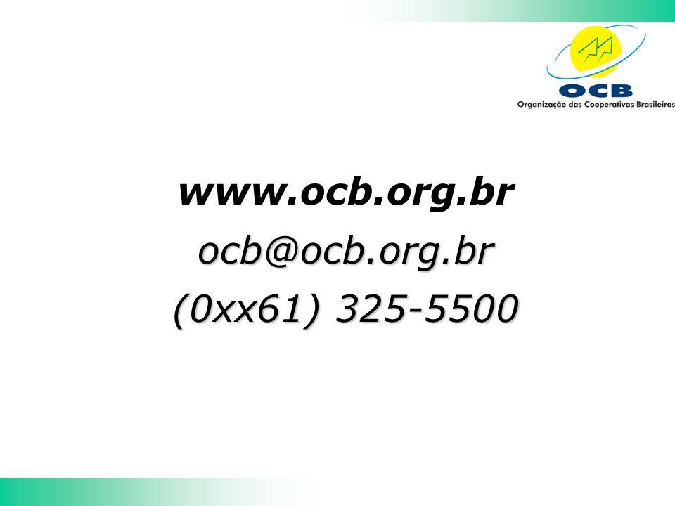 www.ocb.org.brocb@ocb.org.br (0xx61) 325-5500