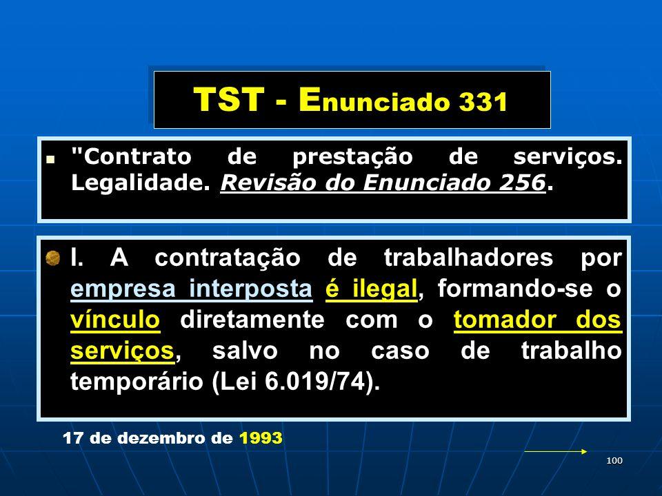 100 TST - E nunciado 331