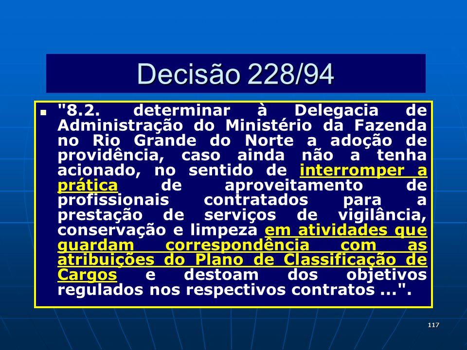 117 Decisão 228/94