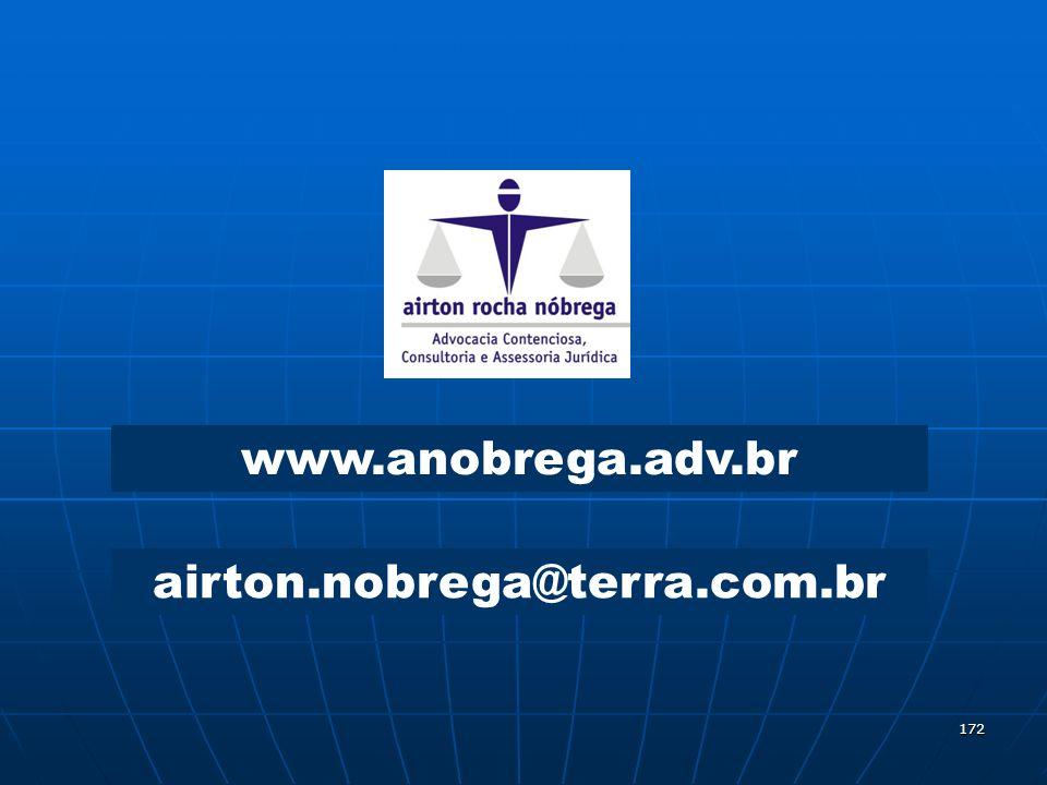 172 www.anobrega.adv.br airton.nobrega@terra.com.br
