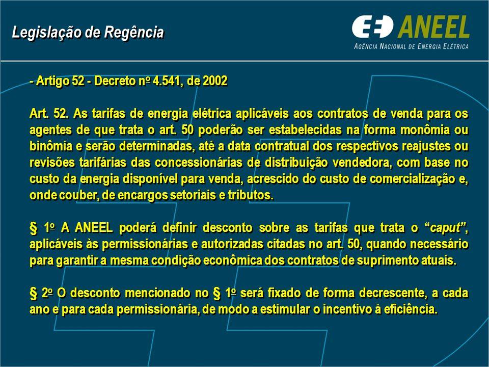 - Artigo 52 - Decreto n o 4.541, de 2002 Art. 52.