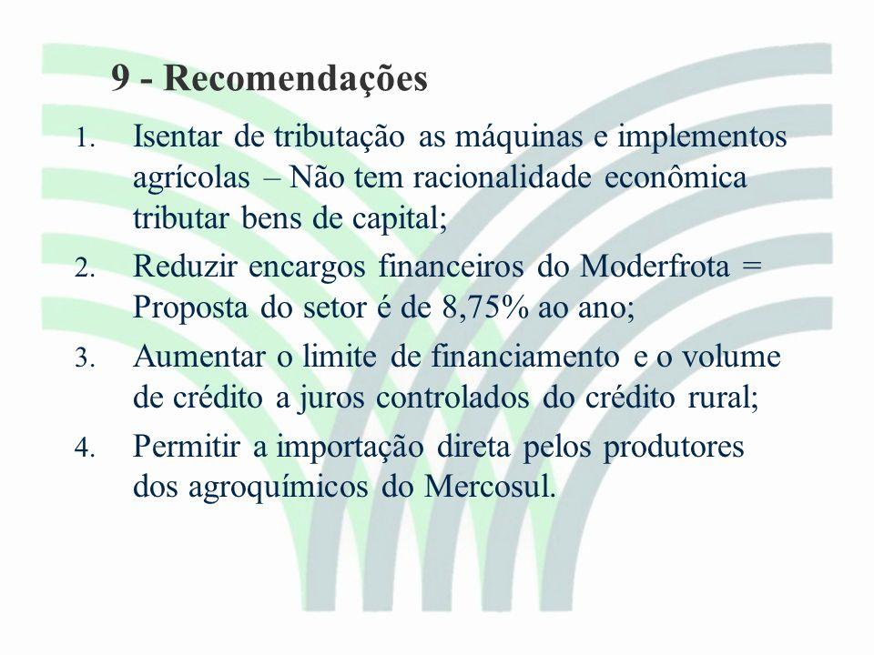 9 - Recomendações 1.