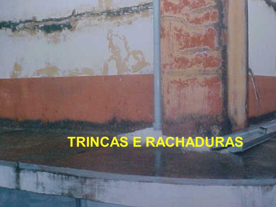 TRINCAS E RACHADURAS