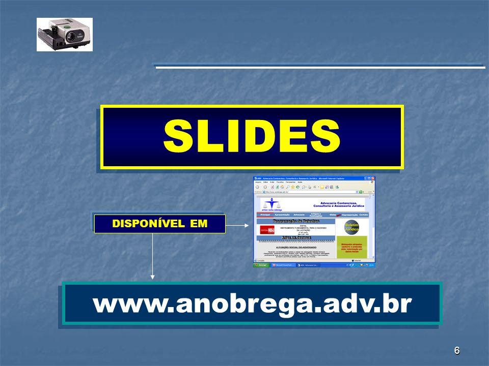 127 www.anobrega.adv.br airton.nobrega@terra.com.br