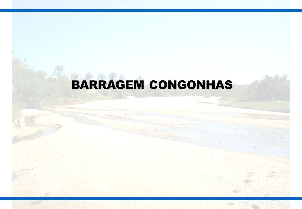 Localização Mapa de Localização Barragem Congonhas Barragem de Congonhas